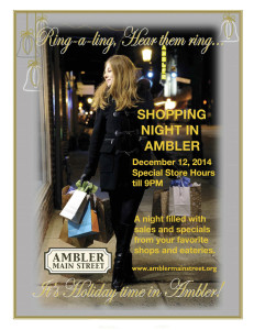 2014 AMS Shopping Night