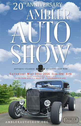 2016 AMS Auto Show Poster